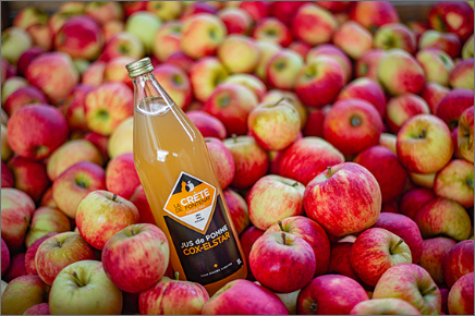 Jus de pomme Cox-Elstar La crête de Fontenay