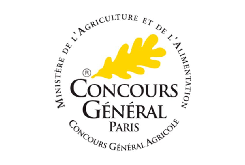 jus de pommes logo du concours général de paris
